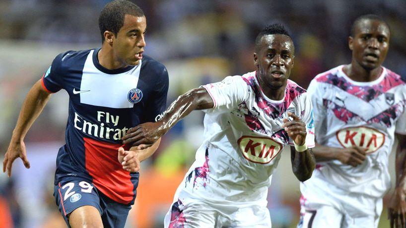 Maxime Poundjé a bien contenu l'attaquant parisien Lucas Moura