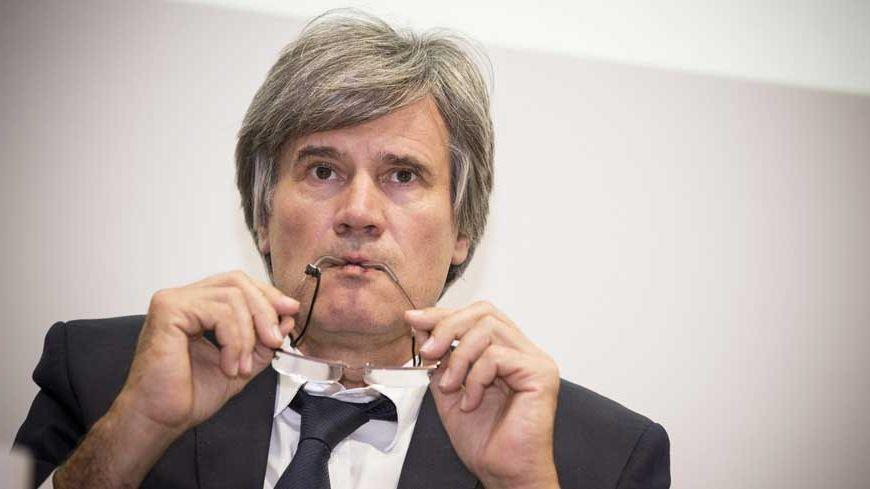 Le ministre de l'Agriculture Stéphane Le Foll