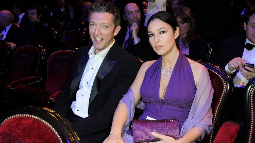 Monica Bellucci et Vincent Cassel en 2009 à la cérémonie des Césars