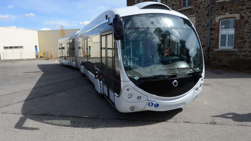 Le Stanway : le nouveau bus de la ligne 2 du réseau Stan à Nancy