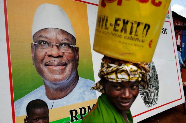 Ibrahim Boubacar Keïta est arrivé en tête du premier tour