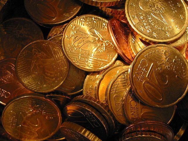 Quelques centimes d'euros