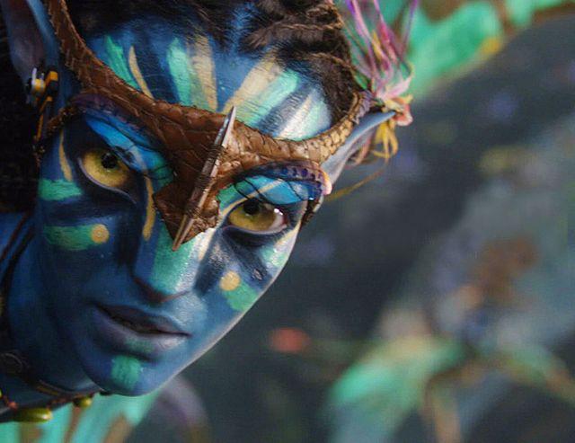 """Un personnage du film """"Avatar"""" de J. Cameron"""