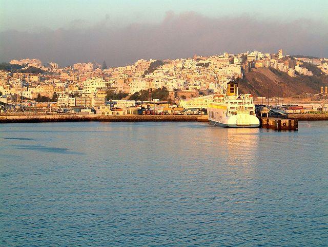 Vue sur Tanger