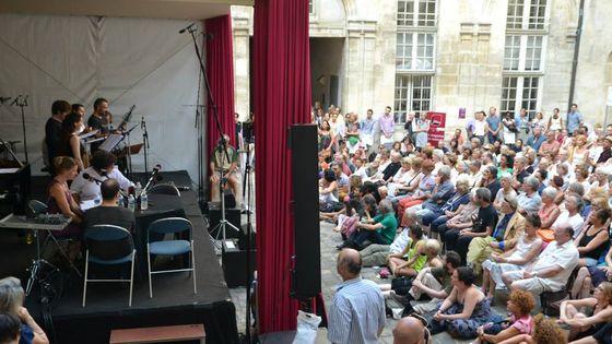 Photo - Le public d'Albret 23 août 2013