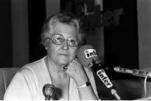 Françoise Dolto au micro