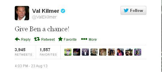 Val Kilmer tweet