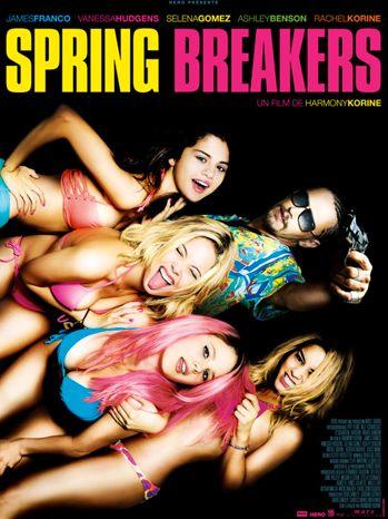 "Affiche de ""Spring Breakers"", Harmony Korine, 2013"