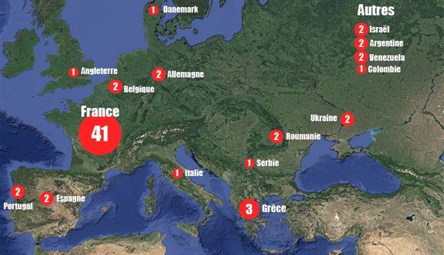 Où les clubs sont-il allés chercher les joueurs ?