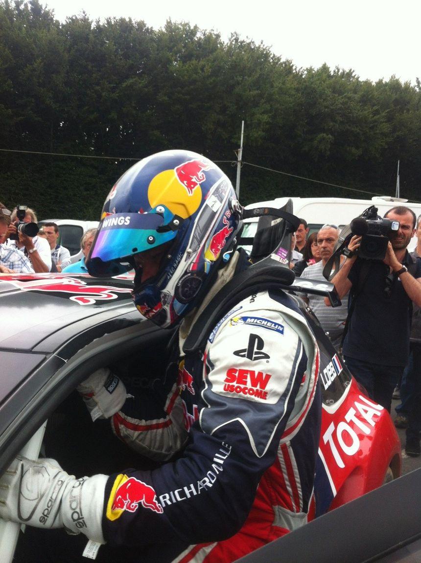 Sébastien Loeb au départ