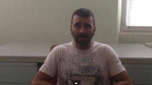 Francisco Benitez a enregistré une video postée sur le site de Paris-Match