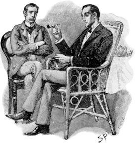 Sherlock Holmes et le Docteur Watson, illustration de Sidney Paget