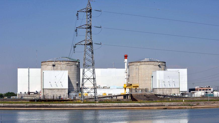 La centrale nucléaire de Fessenheim en Alsace
