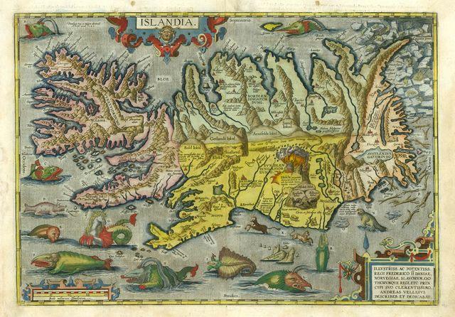 carte de l'Islande