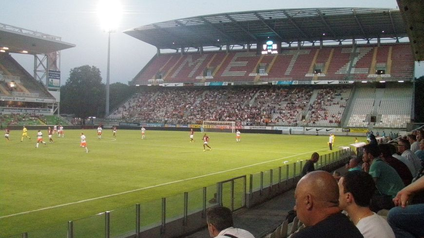 Le FC Metz au stade Saint Symphorien