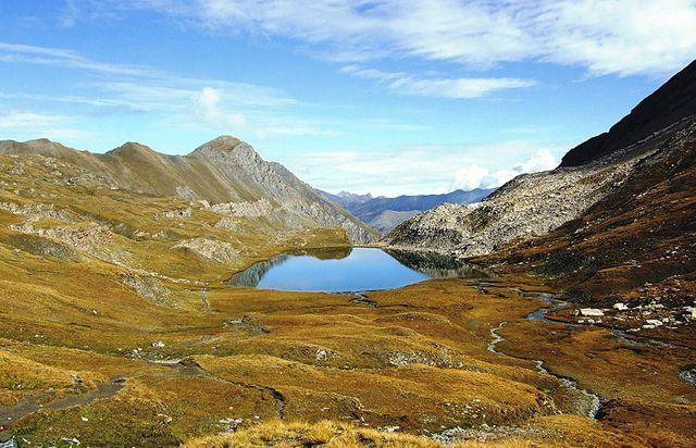 Le Queyras, massif des Alpes françaises