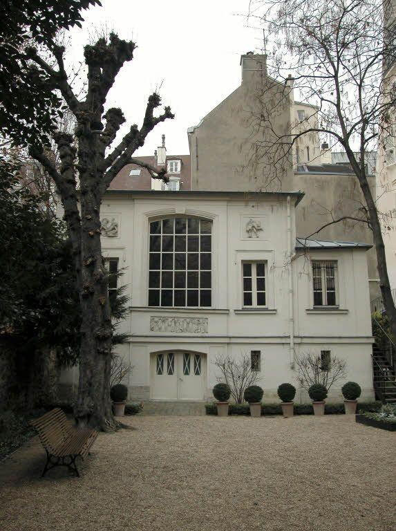 Musée Delacroix, le jardin