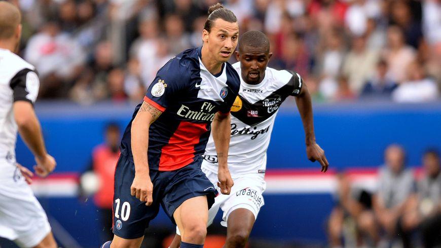 Ibrahimovic a marqué le 2e but parisien, à la 93e minute