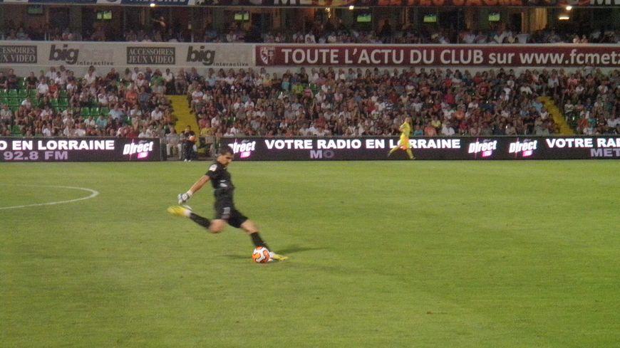 Johann Carrasso, gardien du FC Metz