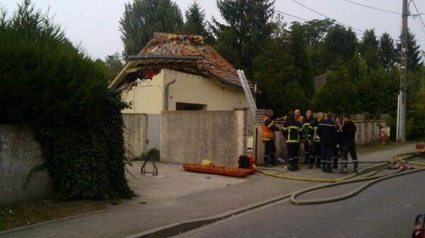 Explosion Saint Julien les Metz
