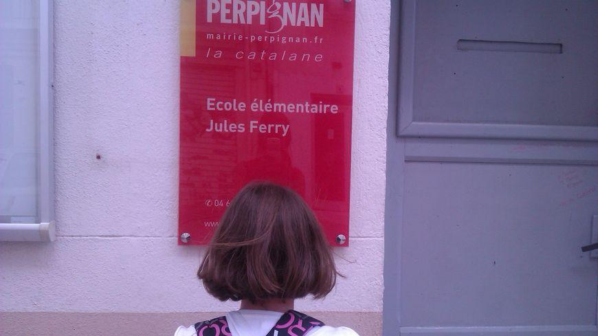 L'école Jules Ferry de Perpignan