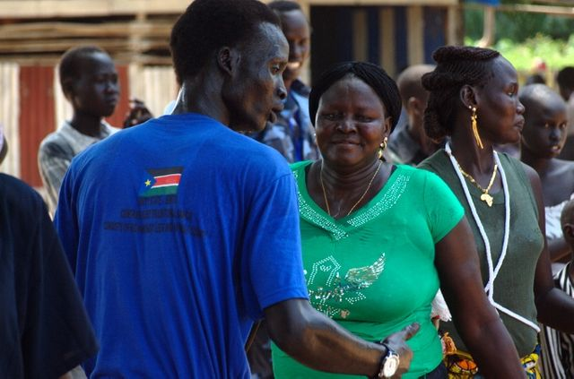 Danseurs au Soudan