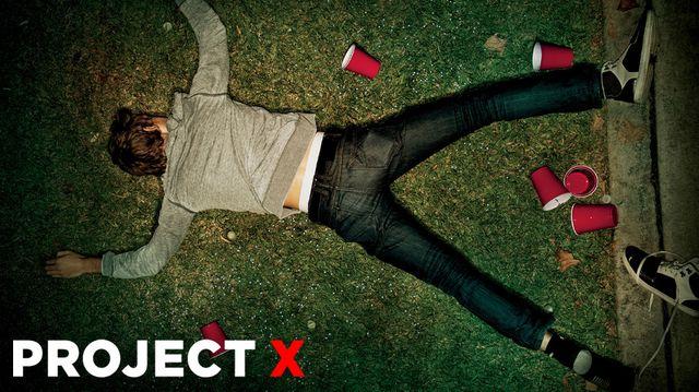 Projet X - affiche - par terre