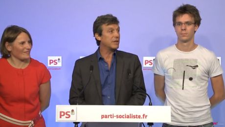 Point presse du PS avec David Assouline