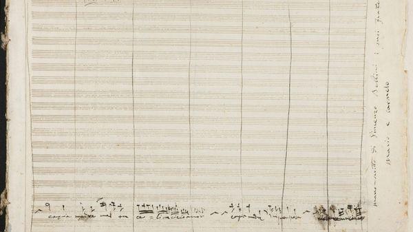 Un manuscrit de Bellini retrouvé en Espagne