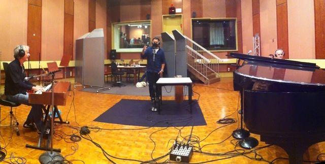 Emmanuel Bex,  Mike Ladd & Nico Morelli en live dans le studio 119 de la Maison de la Radio