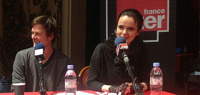 Christophe Galfard et Amélie Nothomb