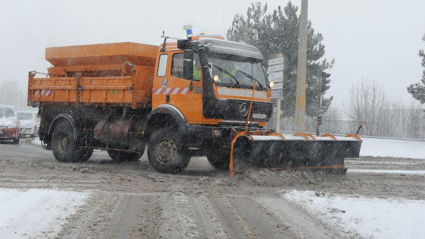 Un chasse-neige (photo d'illustration).