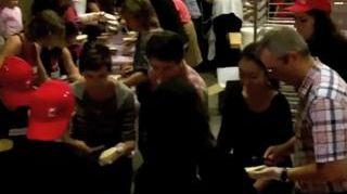 VIDEO - Le record du monde de tartines battu en Alsace