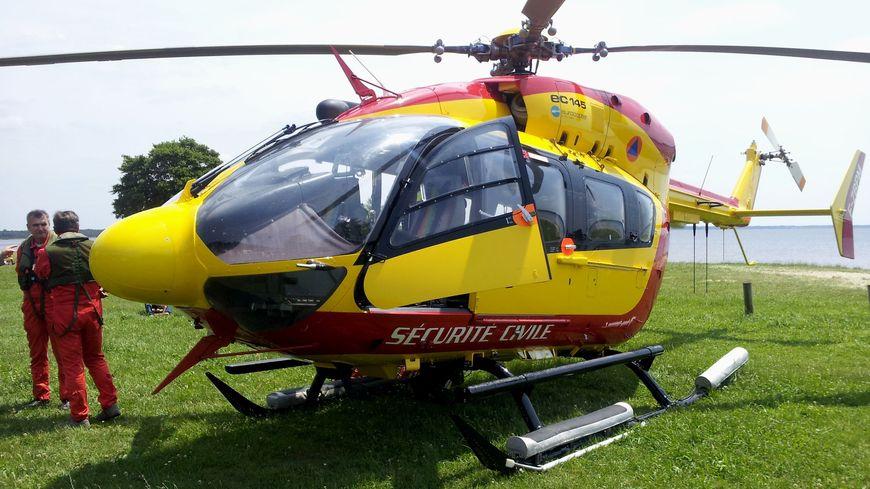 L'un des 2 adolescents blessés a été évacué par l'hélicoptère de la Sécurité Civile
