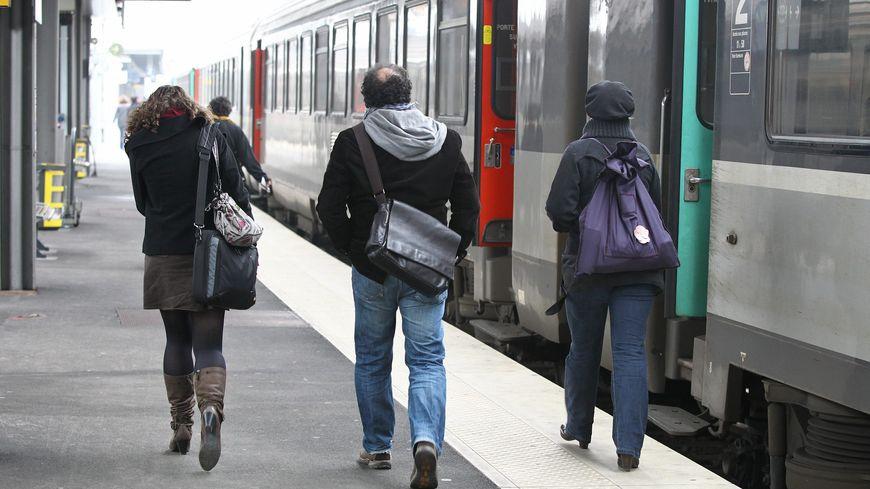 La gare SNCF d'Amiens