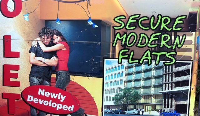 """Le marché des appartements """"sécurisés"""" à Johannesburg"""