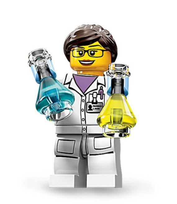 Légo scientifique féminin