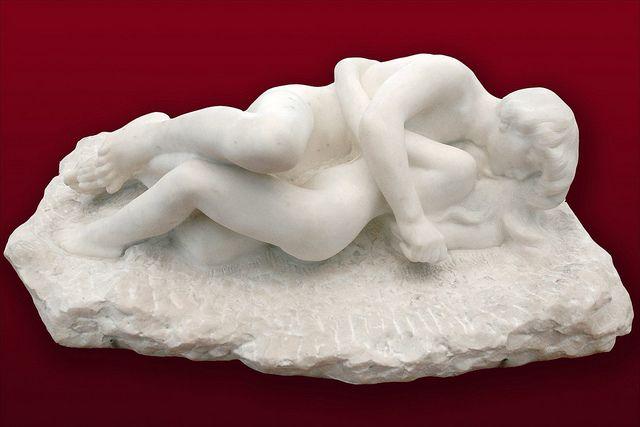 Amour et Psyché (A. Rodin)