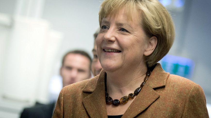 La chancelière Angela Merkel se succéde à elle-même pour un troisième mandat