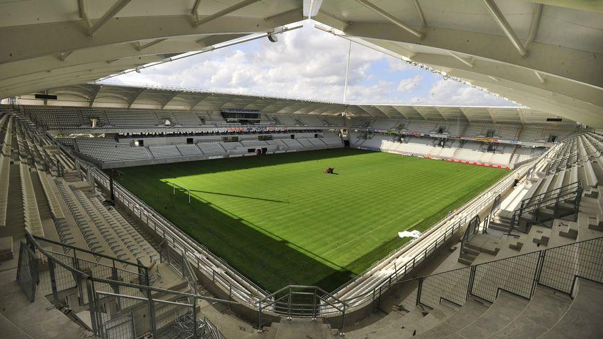 Le stade Auguste Delaune à Reims