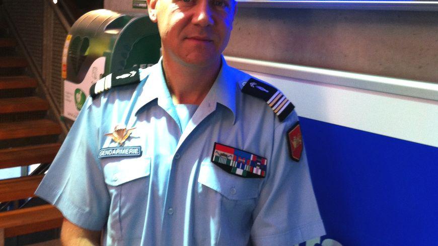 Le lieutenant-colonel Antoine Bréart de Boisanger, patron de la gendarmerie en Dordogne