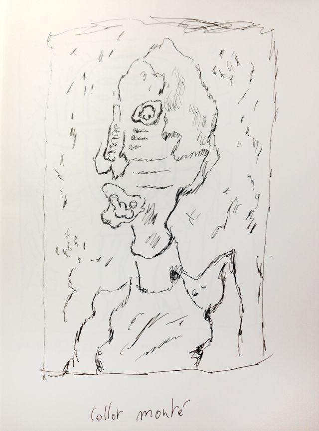 Le Collet Monté de Dubuffet, revu par Joann Sfar