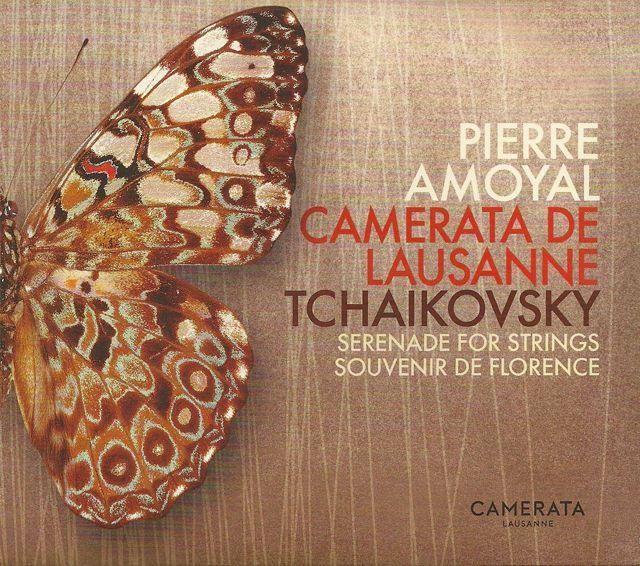 Tchaïkovski par Pierre Amoyal et la Camerata de Lausanne