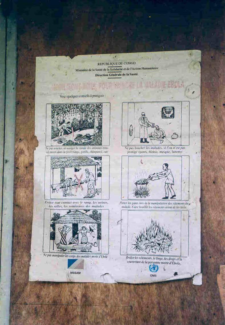 Affiche Ebola Mbobo