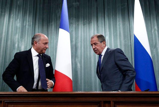 Laurent Fabius et Sergueï Lavrov se sont rencontrés à Moscou