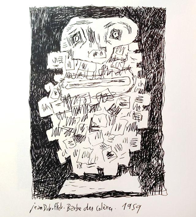 La barbe des colères de Dubuffet, revue par Joann Sfar