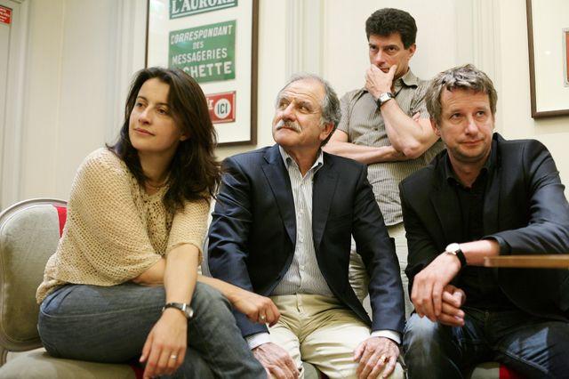 Cécile Duflot, Noel Mamere, Pascal Durand, et Yannick Jadot