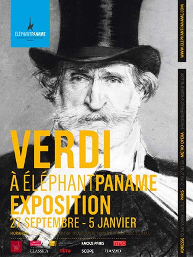 Exposition Verdi à Eléphant Paname