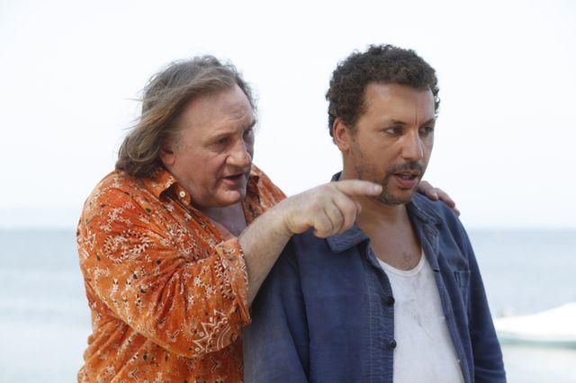 """Gérard Depardieu et Atmen Kélif dans """"Les Invincibles"""""""