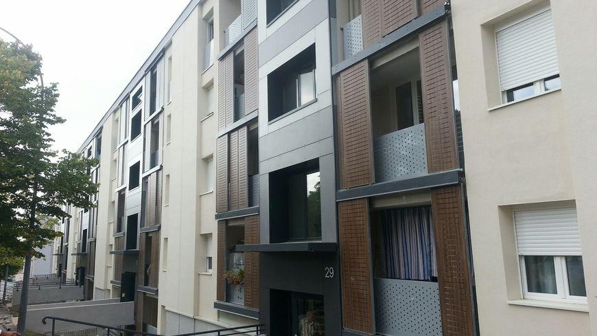 Un des immeubles rénovés du quartier des oliviers